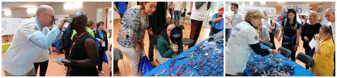 Special Olympics missie Essilor